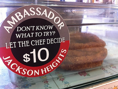 The Ambassador takes the guesswork out of ordering in Jackson Heights.