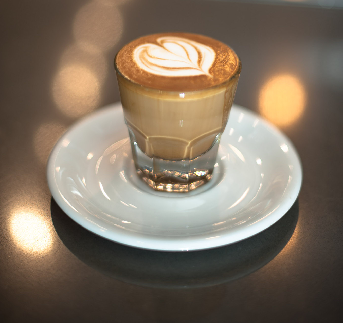 Cortado Cafe de Cupping
